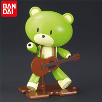 Bandai Gundam Original HG 1:144 Japan Anime Action Toys Figures Robot Plastic Model Green Petit Gguy Guitar HGD 211235