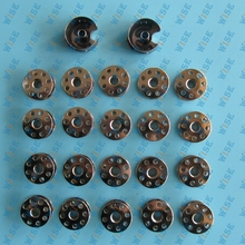 20 PCS BOBBINS & 2 BOBBIN CASES FOR JUKI DDL-8700 8500 555 227 and other industrial single needle lockstitch sewing machine