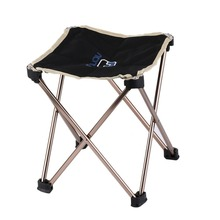 OUTAD Outdoor Foldable Folding Fishing Picnic BBQ Garden Chair Tool Square Camping Stool 7075 Aluminium Alloy new arrival