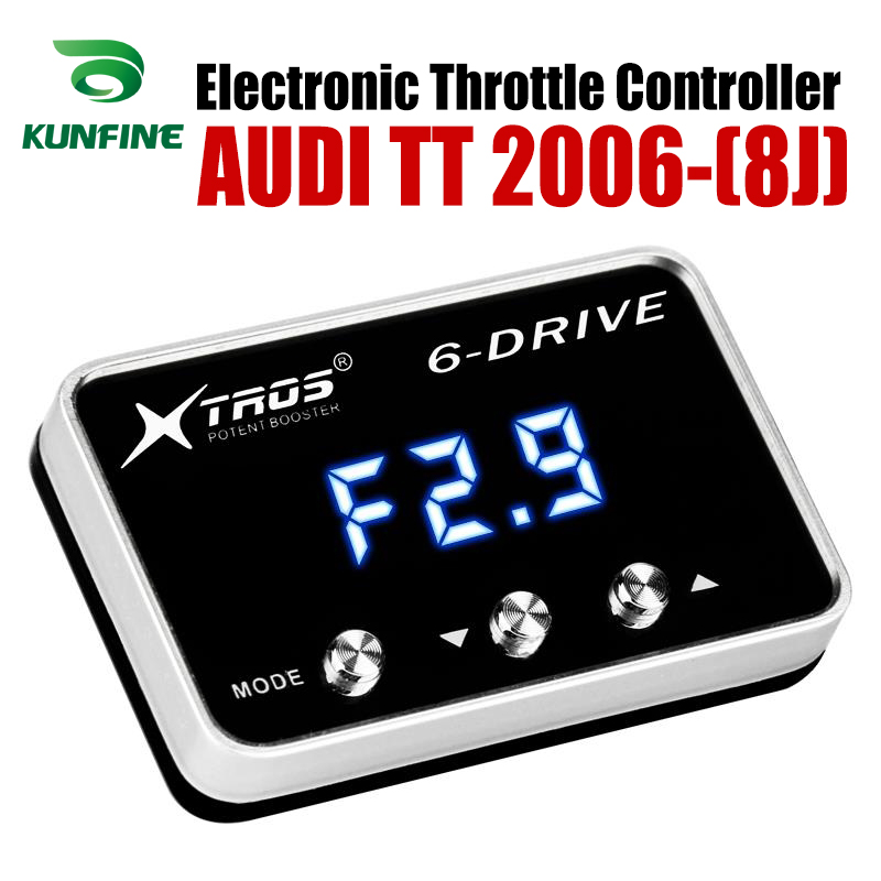 Car Electronic Throttle Controller Racing Accelerator Potent Booster For AUDI TT 8J 2006-2019 Tuning Parts AccessoryCar Electronic Throttle Controller Racing Accelerator Potent Booster For AUDI TT 8J 2006-2019 Tuning Parts Accessory