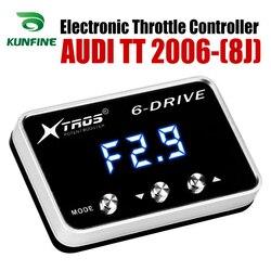 Samochód elektroniczny regulator przepustnicy wyścigi akcelerator wspomagacz dla AUDI TT 8J 2006-2019 części do tuningu akcesoria