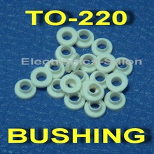 ( 1000 pcs/lot ) Insulation Bushing for TO-220 Transistor, Washer.
