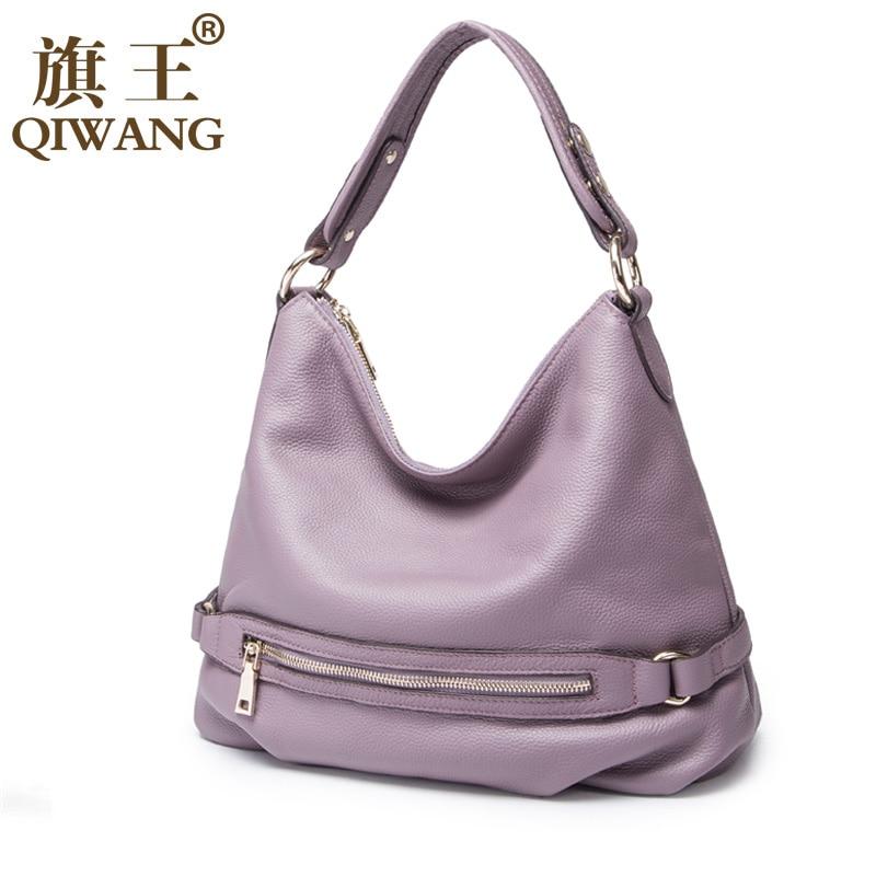 qiwang 100% bolsa de couro Ocasião : Versátil
