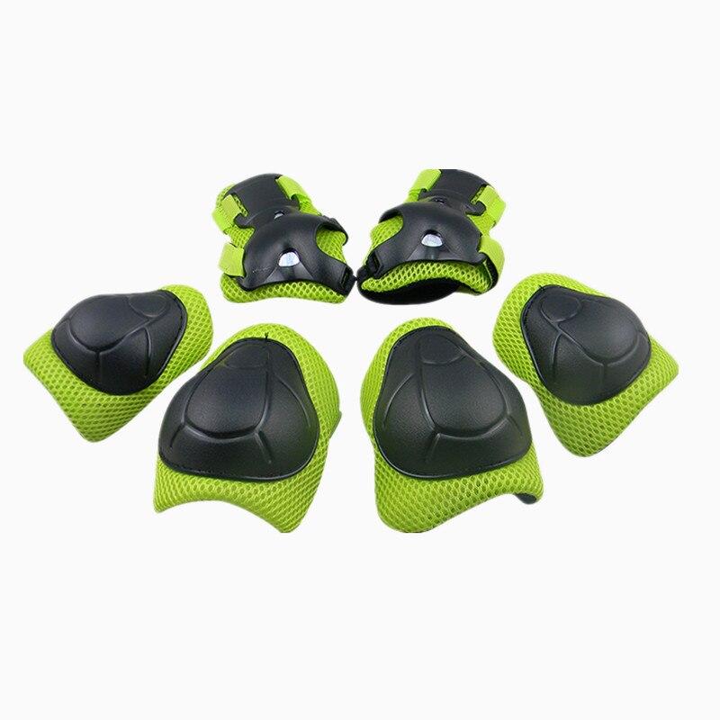 LANOVA 6 pcs/ensemble de protection patins Ensemble Genouillères Coudières Poignet Protecteur Protection pour Scooter Vélo Rouleau De Patinage