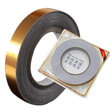 50 Meters Waterproof Gold And Silver Foil Sticker Liner For Tile Ceramic