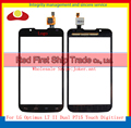 "High Quality 4.3"" For LG Optimus L7 II 2 Dual P715 P716 Touch Screen Digitizer Sensor Glass Lens Panel Black White"