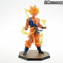 Dragon Ball Z Super Saiyan Son Goku Battle Version Action Figure 6.8′