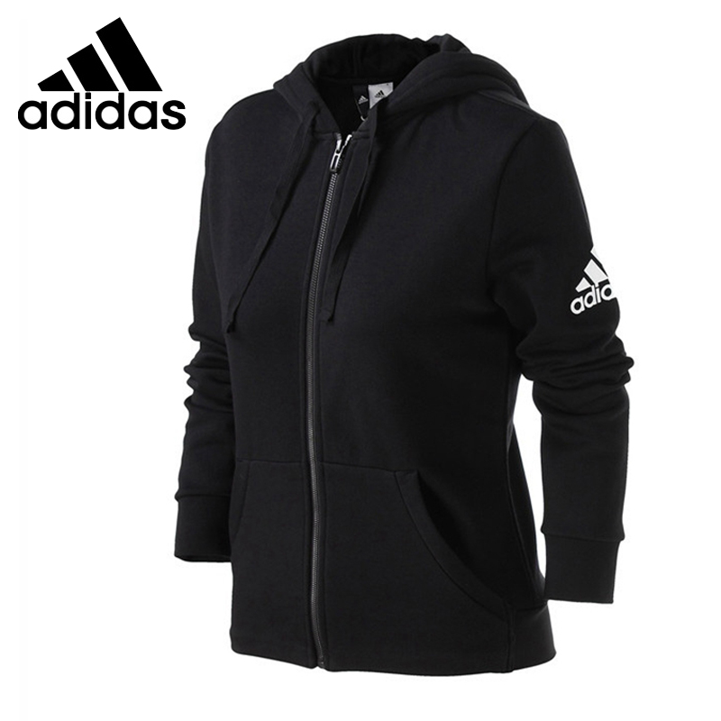 Original New Arrival 2018 Adidas ESS SOLID FZ HD Men's jacket Hooded Sportswear толстовка ess hooded jacket tr