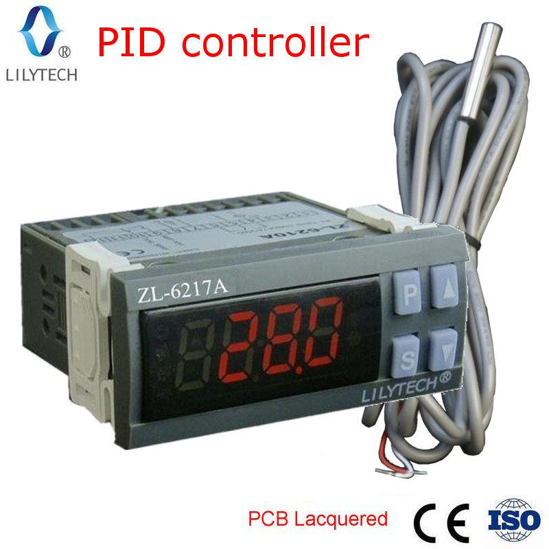 ZL 6217A, PID temperatur controller, inkubator thermostat ...