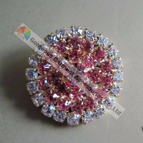 20 штук 1 дюймов 25 мм круглый дерьмо-на Эс ясно кристалл Horn чуть слышно кнопка диаманте центральной Solo и сербский цвета тон для одежда грн