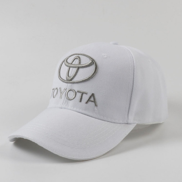 Adjustable Baseball Cap With Toyota Logo (3 colors)