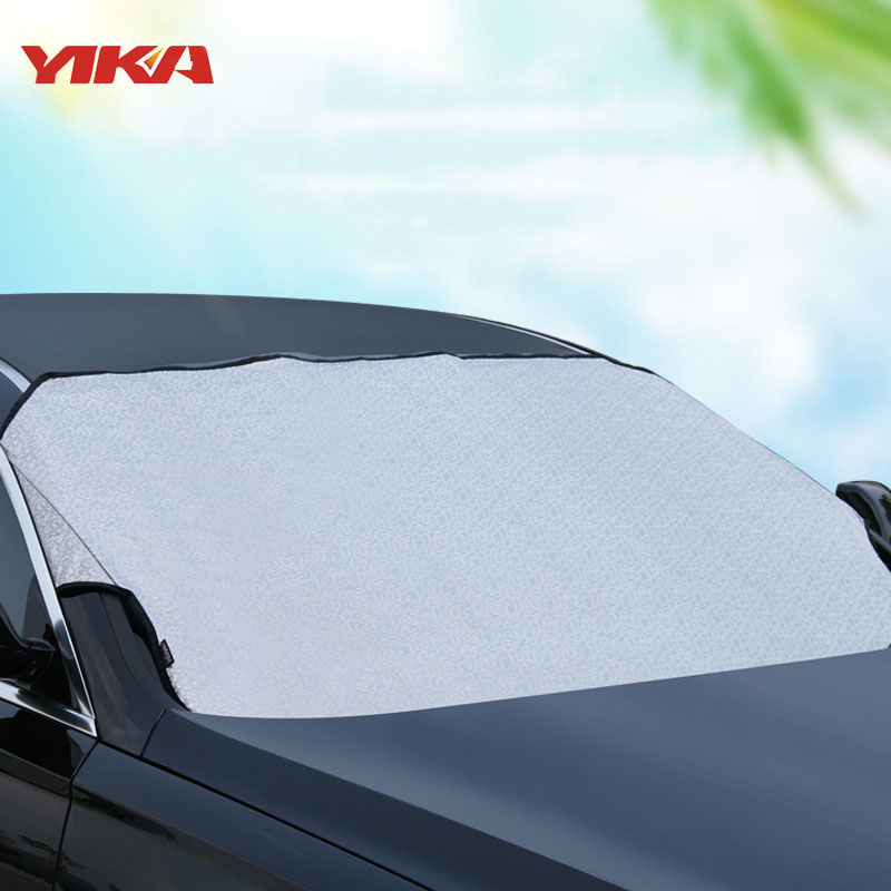 Car Accessories Thin Windshield Cover Winter Snow Sun Windshield Cover Car Windshield Sunshade For Volkswagen SUV And Ordinary