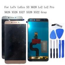 """Per LeTV LeEco Le 2 Pro 5.5 """"LCD Originale touch screen di ricambio per X527 X520 X522 X620 Leeco Le s3 X626 LCD kit di riparazione"""