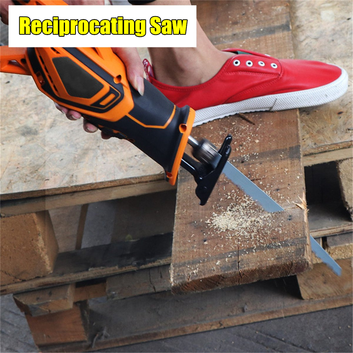 Drillpro 20V 3000mAh Rechargeable Reciprocating Saw Wood Cutting Saw Electric Wood Metal Plastic Saw portable rechargeable reciprocating saw wood cutting saw 20v 3000mah electric wood metal plastic saw