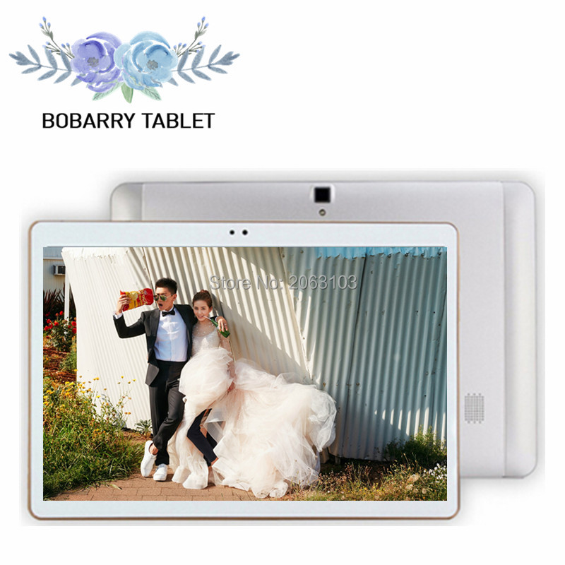 S106 bobarry 4g lte android 6.0 10.1 pulgadas tablet pc octa core 4 GB RAM 128 G
