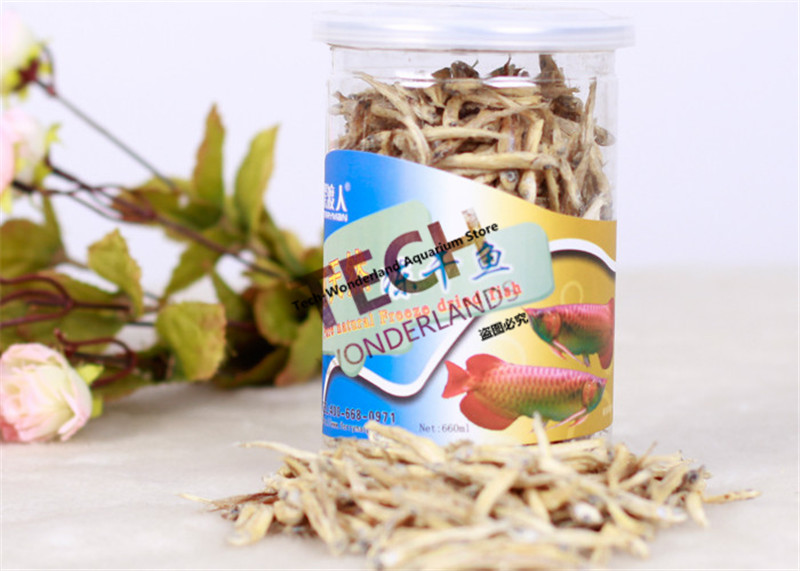 Freeze Dried Fish Aquarium Rajah Cichlasoma Horn Blood parrot cichlid Red Gold Arowana Food Ornamental Lohan Turtle Reptile Feed