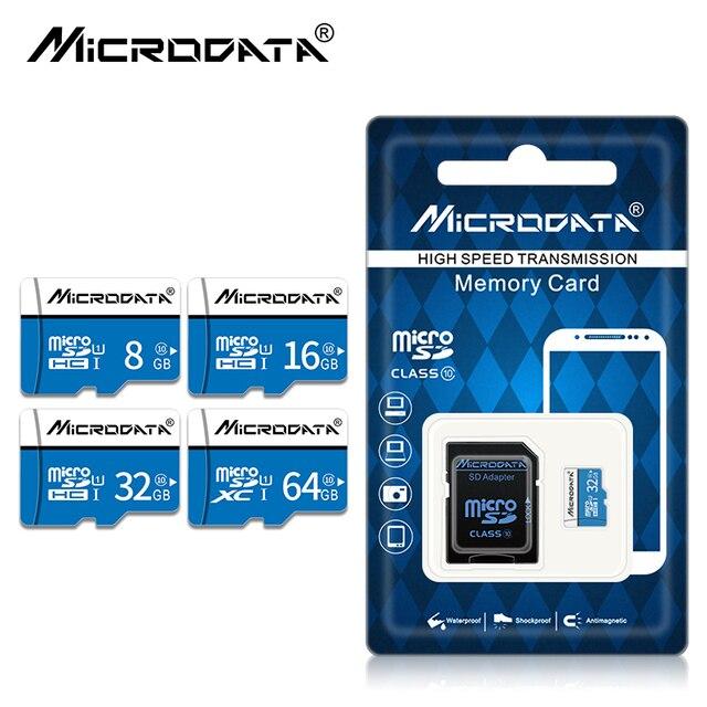 Cartão de Memória Flash Real Capacidade micro sd gb 32 16 64 10 gb micro sd classe cartão de memória 128 gb gb mini carte sd Tablet frete grátis