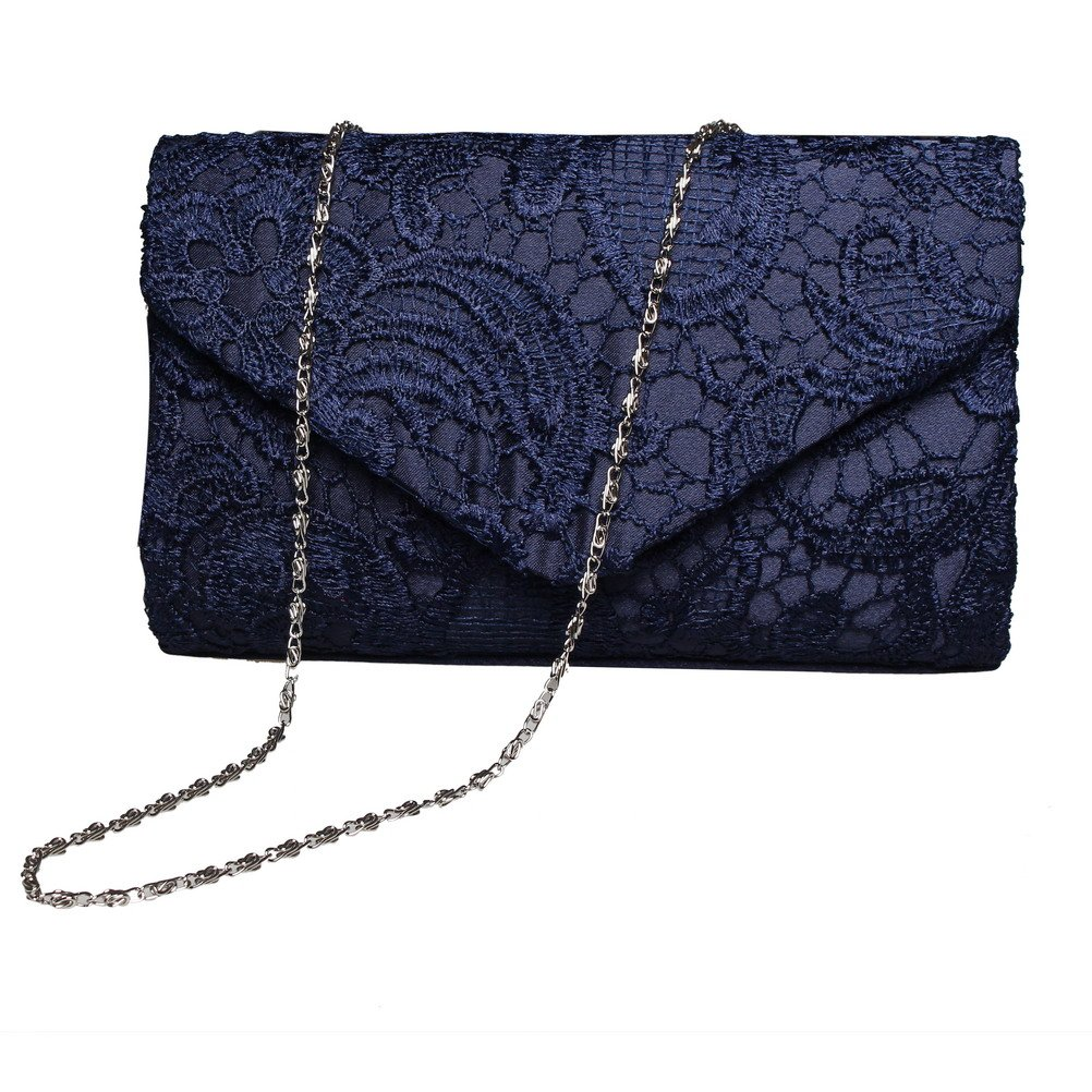 Women Luxury Lace Floral Day Clutch Wedding Bride Party Bag Envelope Handbag Evening Bag Bolsas Mujer Purse Banquet Balestra Sac luxury real new arrival day clutches diamonds flower women bag banquet crystal handbag wedding party handbags night clubs purse