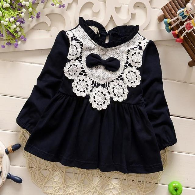 cute bow baby girls jacket 2017 spring fashion newborn lace outfits beb cardigan suit 7-24M kids pink casaco infantil