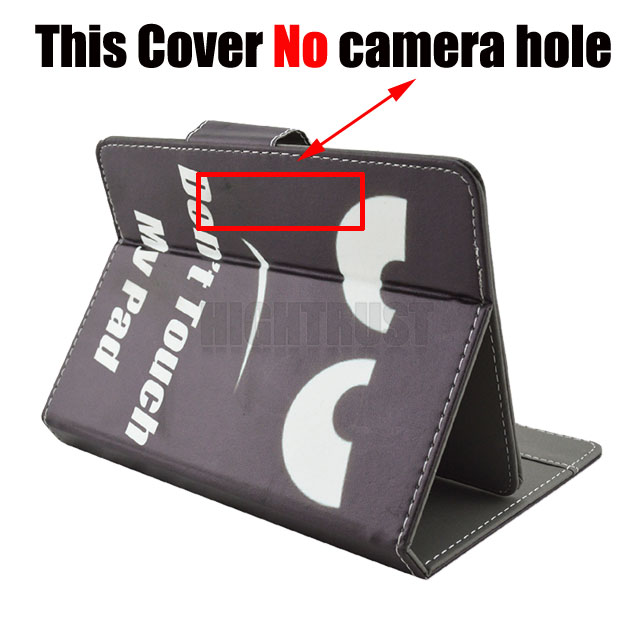 Universal Cover for Alcatel ONETOUCH A3 10 4G 10.1 inch Tablet Printed PU Leather Stand Case (No camera hole)+Gift