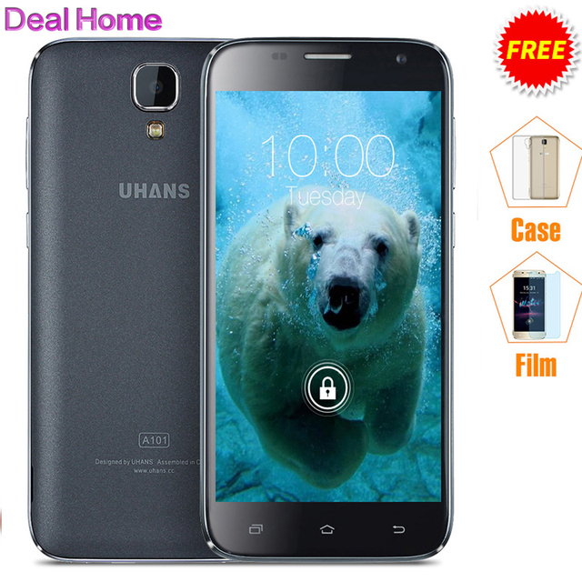"Original Uhans A101 A101S 5.0"" Mobile Phone MTK6780/MTK6737 Quad Core Android 6.0 RAM 1GB/2GB ROM 8GB/16GB 3G/4G Smartphone"