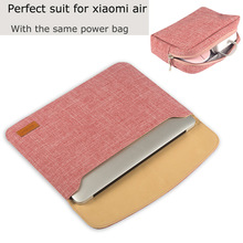 Новая сумка для ноутбука 12.5 «13.3» Для женщин Сплошной Тетрадь рукав сумка для Xiaomi воздуха 12 13 дюймов Планшеты Водонепроницаемый Чехол для Для мужчин soild