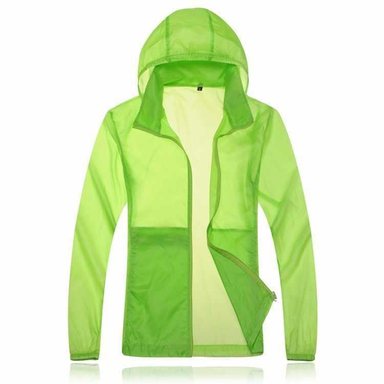Quick Drying skin Windbreaker 2015 Sun Protection Clothing men &women Ultra thin Waterproof Breathable uv protection shirt