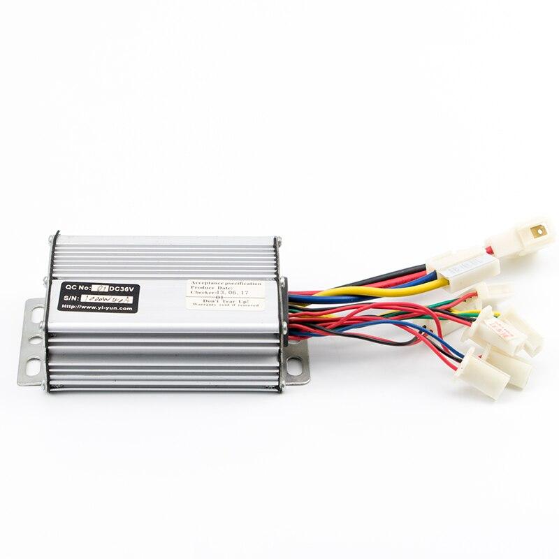 Motor da Escova Controlador de Velocidade Elétrica para Motor 30a dc Controlador Bicicleta Escovado Elétrica Peças 36 v 48 1000 w