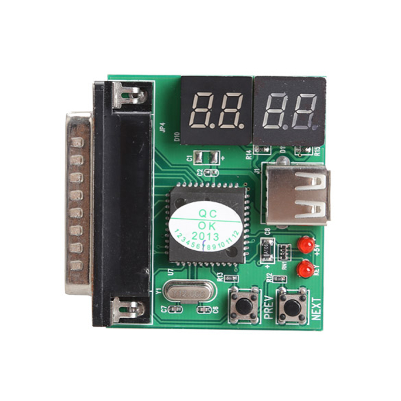 New 4-Digit PC Analyzer Motherboard Diagnostic Tester USB Post Test Card Notebook Diagnostic Tools
