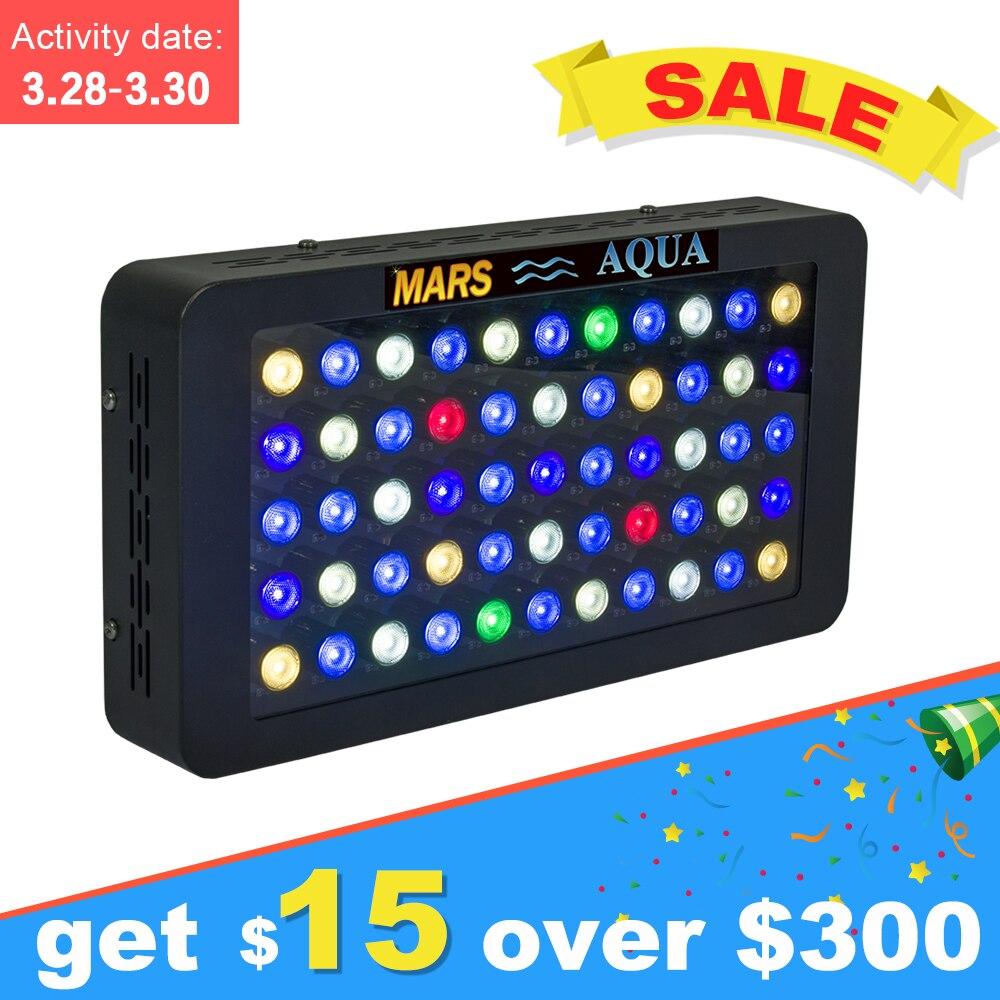 Mars Aqua 165w Dimmable Led Aquarium Lights for Marine Coral Reef SPS/LPS