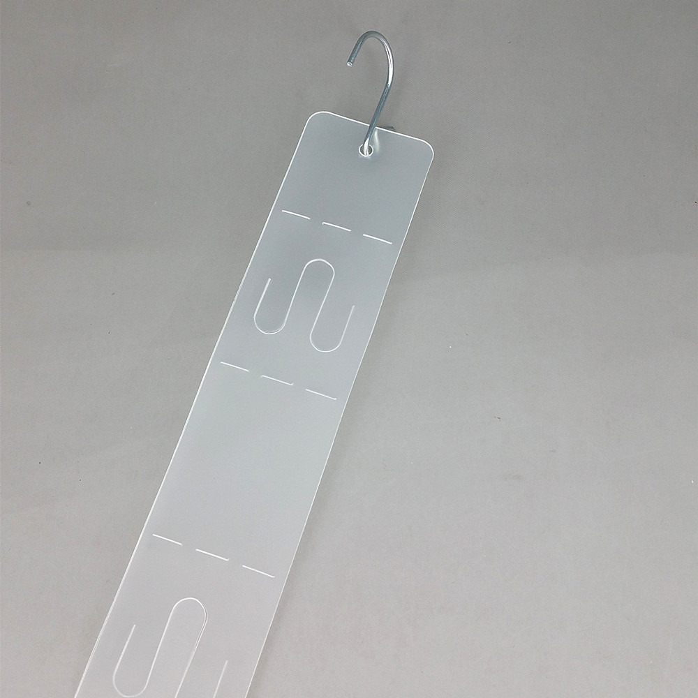 L58cm Plastic Hanging Display Merchandise Clip Strips In Supermarket W4cm For Retail Store Commodity Products Promotion 3000pcs