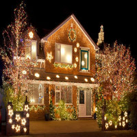 100 Meter 800 LED Christmas Lights 8 Modes For Seasonal Decorative Christmas Holiday Wedding Parties Indoor / Outdoor Use