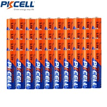 40 adet * PKCELL LR03 3A Baterias 1.5V AAA pİl alkalin tek kullanımlık kuru pil için kamera hesap makinesi çalar saat fare