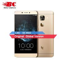 Original New Letv LeEco Le S3 X622 Deca core Helio X20 2.3GHz 5.5 Inch 3GB RAM 32GB ROM 16.0MP 3000mAh Android 6.0 Smartphone(China)