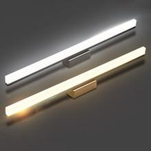 Luces LED de pared de 7W y 10w, espejo frontal de 40/60cm, para tocador, moderno y breve, para baño, envío gratis