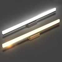 free shipping High Quality 7W 10w LED Mirror Front Wall Lights 40/60cm dresser Modern Brief Bathroom LED Wall Lamp
