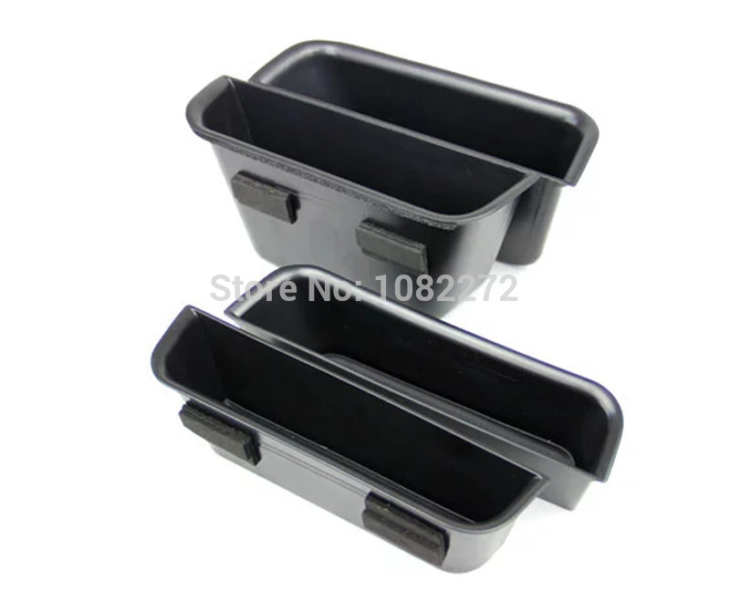 4pcs Car Door Container Armrest Storage Glove Box Organizer Card <font><b>Phone</b></font> <font><b>Holder</b></font> Trim For <font><b>Mercedes</b></font> Benz GL Class X166 2013 2014
