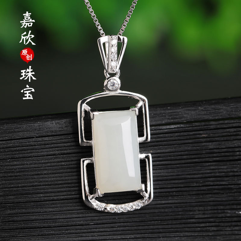 2019 Cluci Cage Pendants Asg Choker Necklace Pendant 925 Inlaid Female Contracted Fashion Ornaments Wholesale Send Certificate 2019 Cluci Cage Pendants Asg Choker Necklace Pendant 925 Inlaid Female Contracted Fashion Ornaments Wholesale Send Certificate