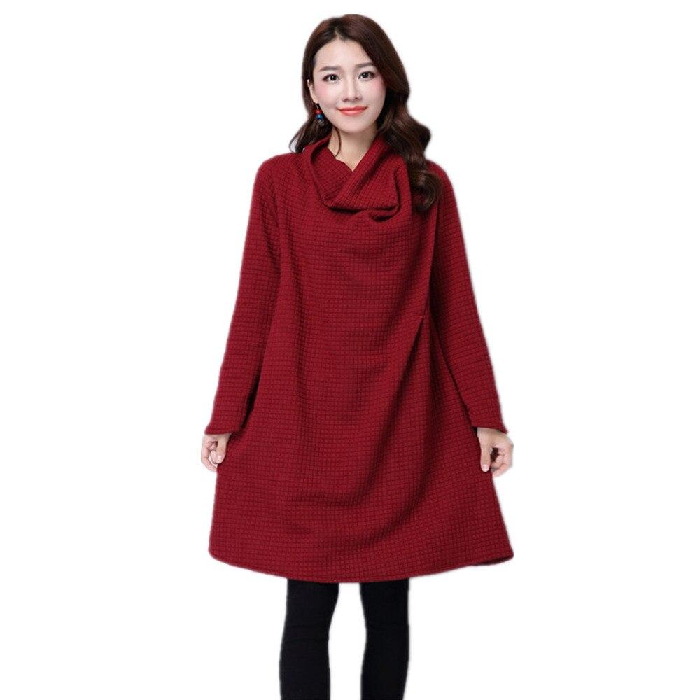 2016 Long Sleeve Spring Plus Size Women Dresses Shawl