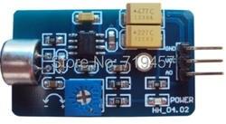Бесплатная доставка 5 шт./лот звуковой модуль датчика Микрофон Датчик микрофона Модуль датчика вывод аналогового аудио