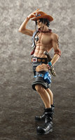 Hot Comic Anime One Piece Fire Fist Portgas D. Ace Megahouse 10th Excellent Model 23CM Action Figure Toys Brand New