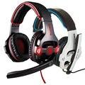 Ruido atado con alambre cancelación sades sa903 7.1 pro gaming headset gamer diadema juego de graves auriculares auriculares auriculares auriculares
