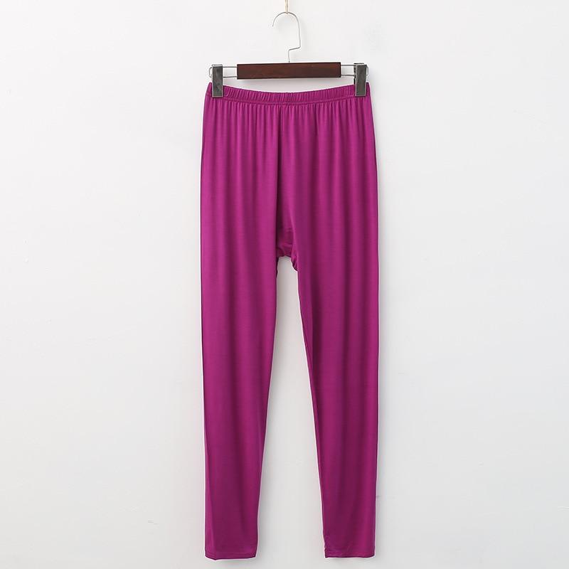 XL XXL 3XL 4XL 5XL Plus Size Women's Trousers Home Pants Modal Pajama Pants For Women Spring Autumn Sleeping Pants Bottom Q306