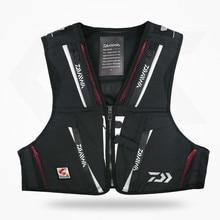 2018 new DAWA Detachable Breathable Life Jacket Vest Fishing Vest Fishing Clothing Fishing Clothes Tackle Flotation Vest AK080