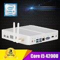 16 ГБ RAM 128 ГБ SSD 1 ТБ HDD Intel i5 Mini PC Windows 10 Core i5 4200U Процессора Маленький Компьютер Mini PC i5 Dual Gigabit LAN 4HD
