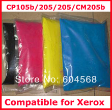 High quality color toner powder compatible for Xerox CP105b/205/cp205/CM205b Free Shipping