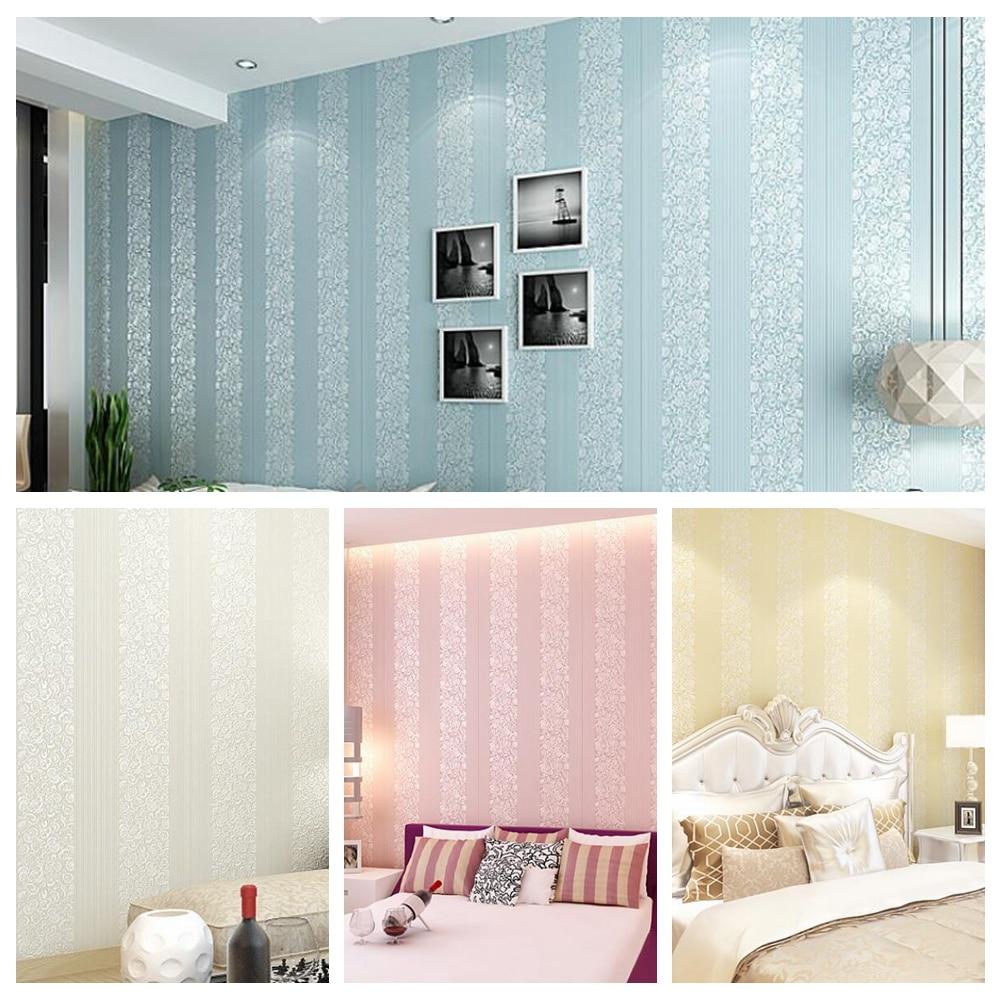 Online kopen Wholesale muur papier strepen uit China muur papier ...