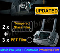Upgraded HD Camera Lens Protective Film + Remote Controller Screen Tempered Glass Film for DJI MAVIC PRO