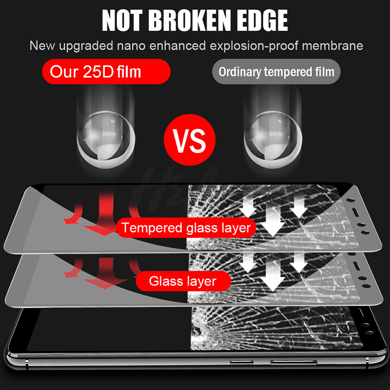 Image 3 - H&A 25D Curved Edge Protective Glass on the For Xiaomi Redmi 7 6 Pro 6A 4X 5 Plus Tempered Screen Protector Note 7 6 5 Pro Glass-in Phone Screen Protectors from Cellphones & Telecommunications