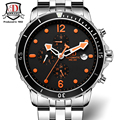 Mens Watches Top BINKADA Brand Luxury Mechanical Watches Sapphire Crystal Water Resistant relogio Luxury Men's Watches
